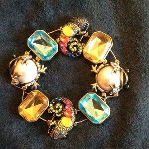 Beautiful Betsy Johnson bracelet